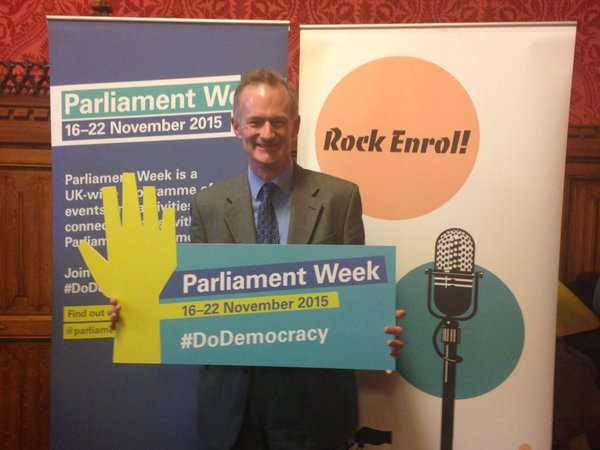 John looks to raise awareness of Parliament Week