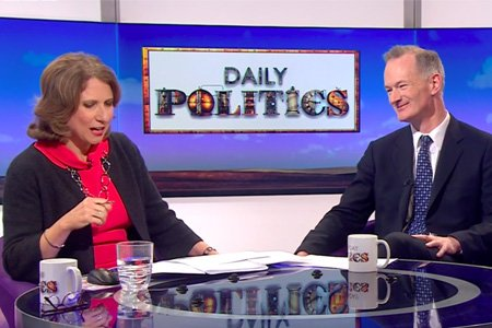 John Appears On Daily Politics To Discuss Brexit