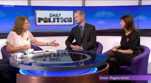 John Appears On Sunday Politics To Discuss Voter Fraud
